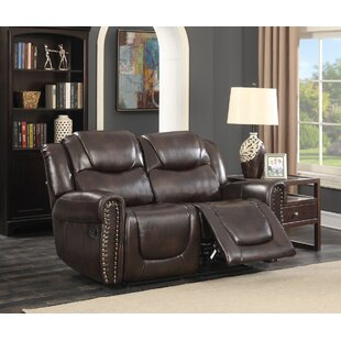 Castrol Living Room Reclining Loveseat by Living In Style