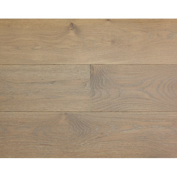 Rustic Old West 7 Engineered White Oak Hardwood Flooring in Mountain Mist by Albero Valley