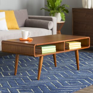 MidCentury Modern Coffee Tables Youll Love Wayfair - Cheap mid century coffee table