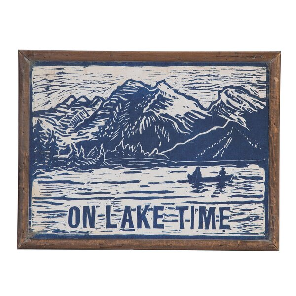 Lake Time Wall Décor by Millwood Pines