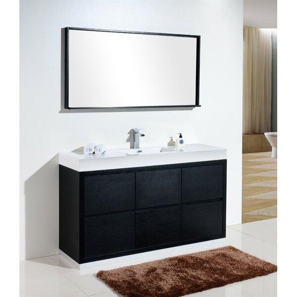Tenafly 60 Single Bathroom Vanity Set by Wade Logan