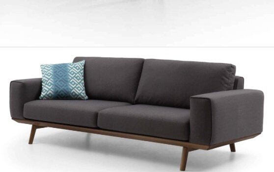 Chasse Loveseat by Corrigan Studio