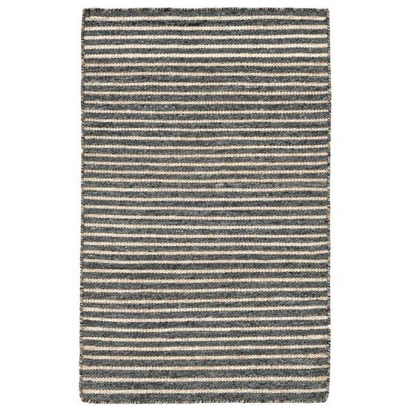 Blueridge Hand-Woven Charcoal Indoor/Outdoor Area Rug by Highland Dunes