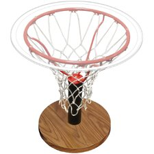 Basketball Rim End Table by Spalding