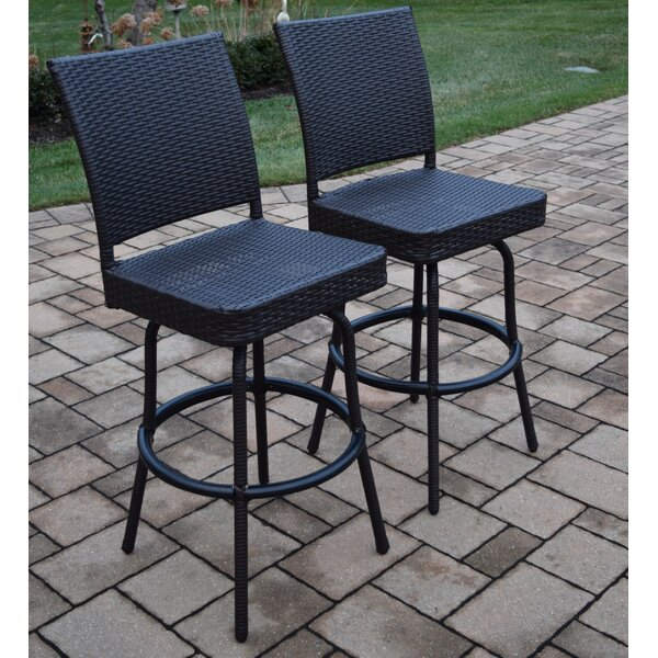 Elite 29 Patio Bar Stool (Set of 2) by Oakland Living