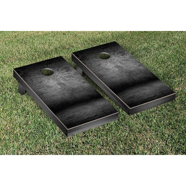 Cement Themed Cornhole Game Set by Victory Tailgate