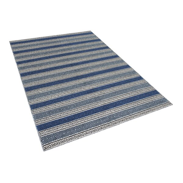 Patnos Hand-Tufted Wool Blue/Gray Area Rug by Home Loft Concepts