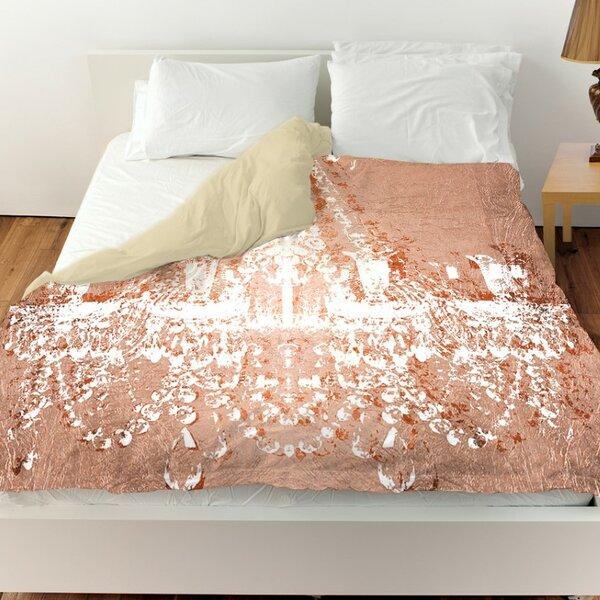 Oliver Gal Home Dramatic Entrance Rose Single Duvet Cover
