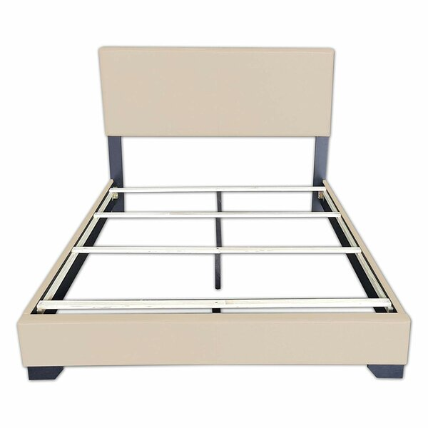 Jessamine PU Padded Bed Frame by Latitude Run