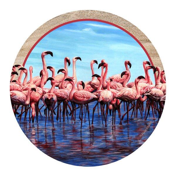 Flamingos Coaster (Set of 4) by Thirstystone