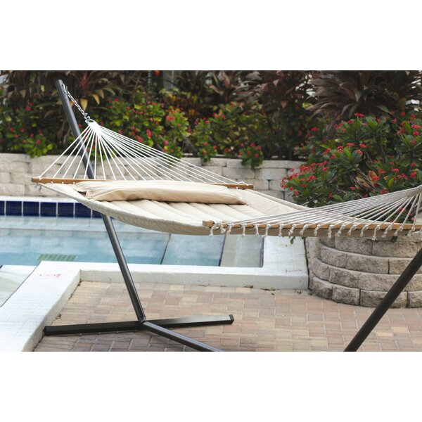 Maria Premium Poly Two Person Polyester Tree Hammock by Beachcrest Home