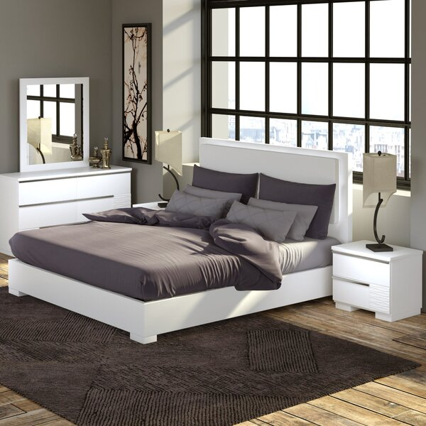 Fenner Platform 5 Piece Bedroom Set by Latitude Run