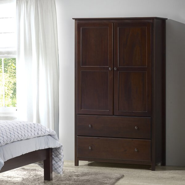 Shaker TV-Armoire by Grain Wood Furniture