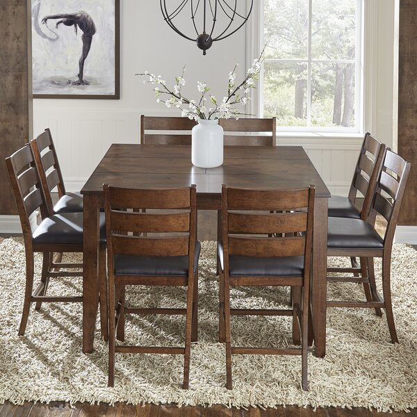 Osborne 9 Piece Dining Set by Loon Peak
