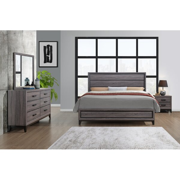 Jerold Panel Configurable Bedroom Set by Williston Forge