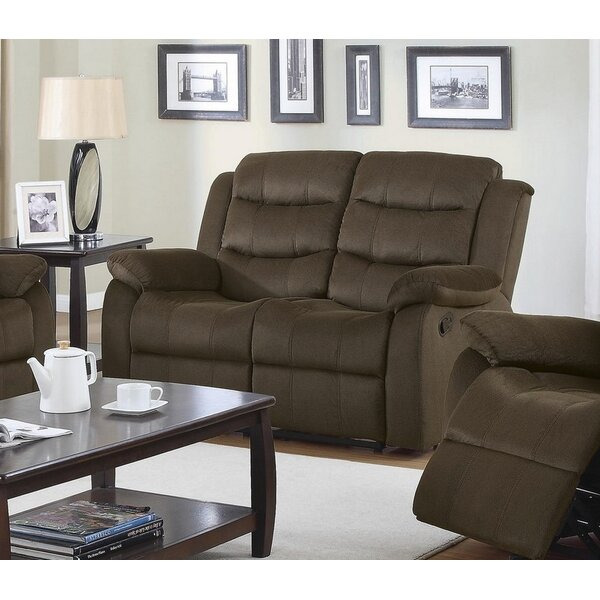 Perfect Priced Oaklawn Motion Reclining Loveseat by Red Barrel Studio by Red Barrel Studio