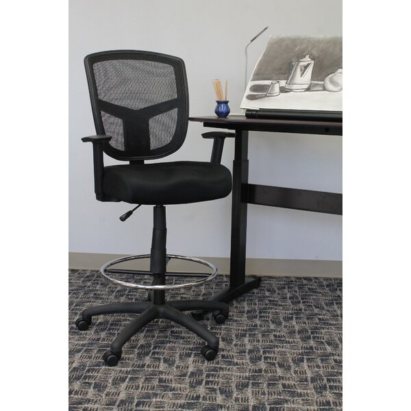 Lyla Mesh Drafting Chair by Zipcode Design