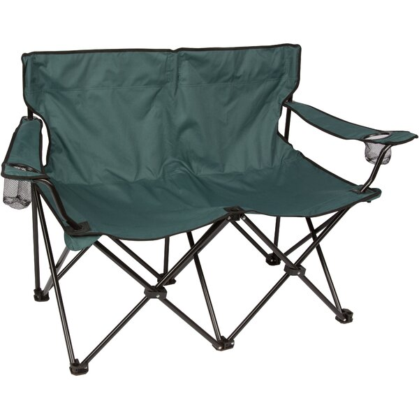 Loveseat Folding Camping Chair by Trademark Innovations Trademark Innovations