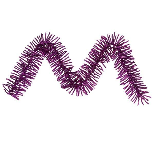 Purple Mini Décor Garland by Vickerman