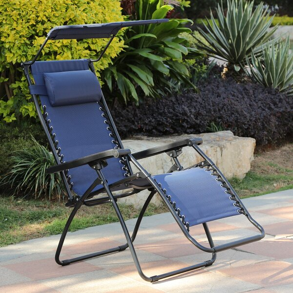 Shildon Folding Zero Gravity Chair by Red Barrel Studio Red Barrel Studio