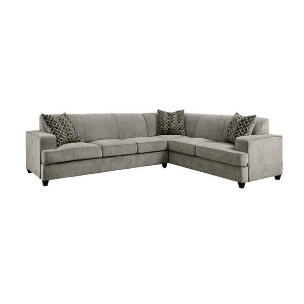 Barwen Right Hand Facing Sleeper Sectional By Latitude Run
