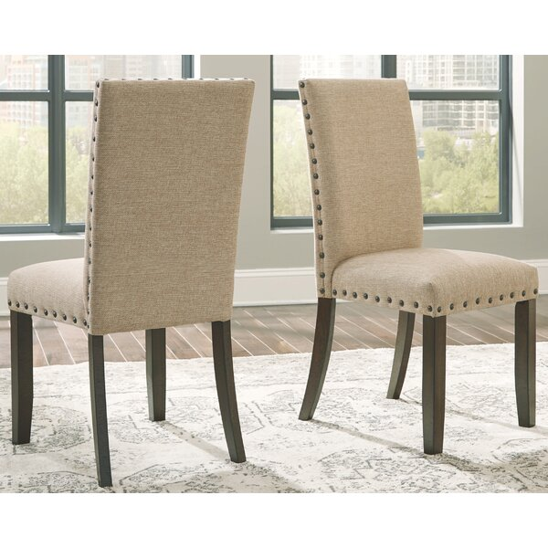 Chapdelaine Upholstered Dining Chair (Set of 2) by Gracie Oaks
