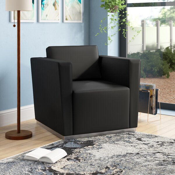 Hypnos Leather Lounge Chair by Wade Logan