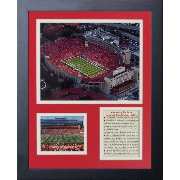 Nebraska Cornhuskers Memorial Stadium Framed Memorabilia by Legends Never Die