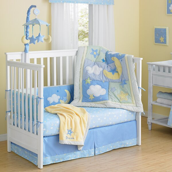 Wish I May 4 Piece Crib Bumper Set by Laugh, Giggl