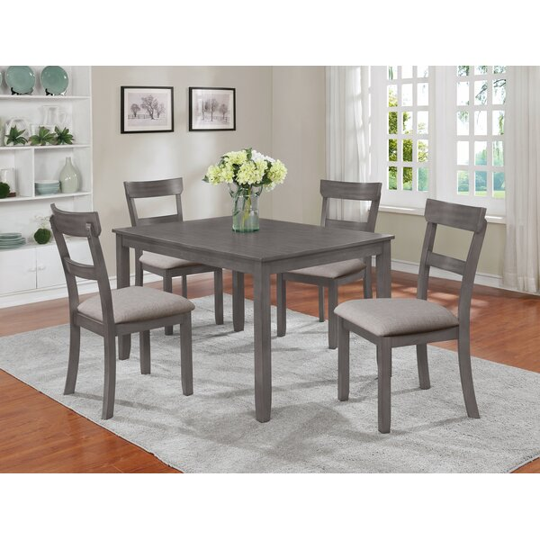 Gosport 5 Piece Dining Set by Darby Home Co