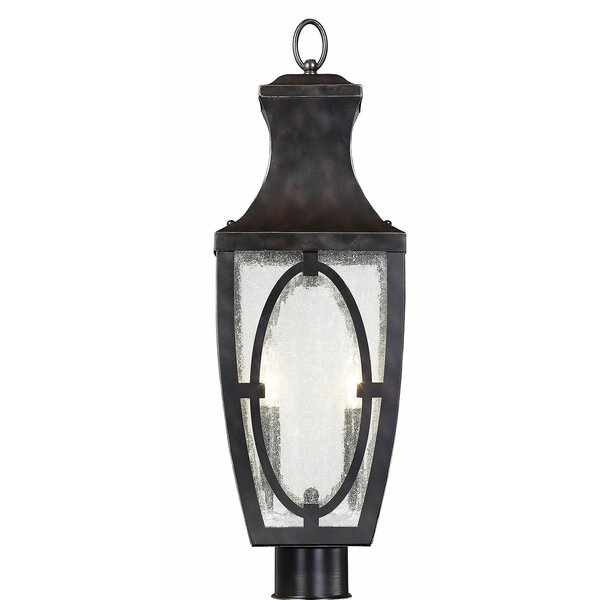 Ramires 2-Light LED 25 Post Light by Darby Home Co