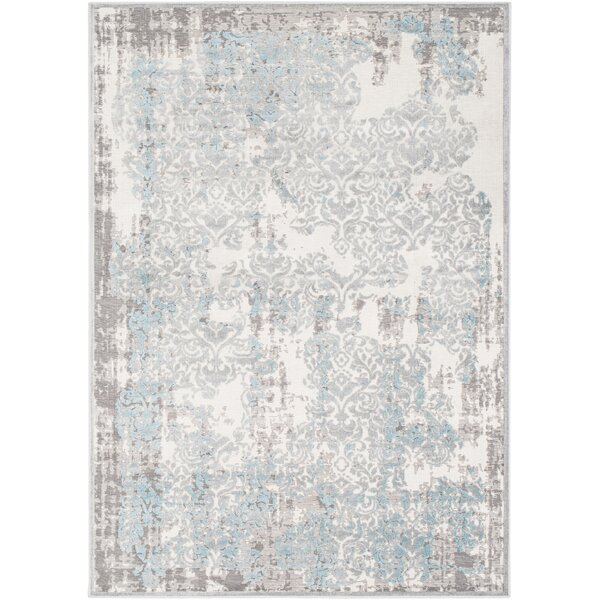 Svendborg Ivory Area Rug by Bungalow Rose| @ $100.00