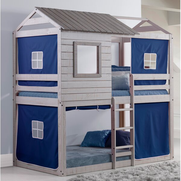 Alluvial Twin Bunk Bed by Zoomie Kids