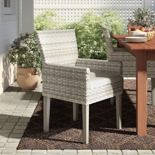 Waterbury Patio Dining Chair with Cushion (Set of 2) by Sol 72 Outdoor