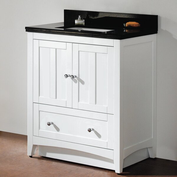 Shaker 30 Single Bathroom Vanity Set by American Imaginations
