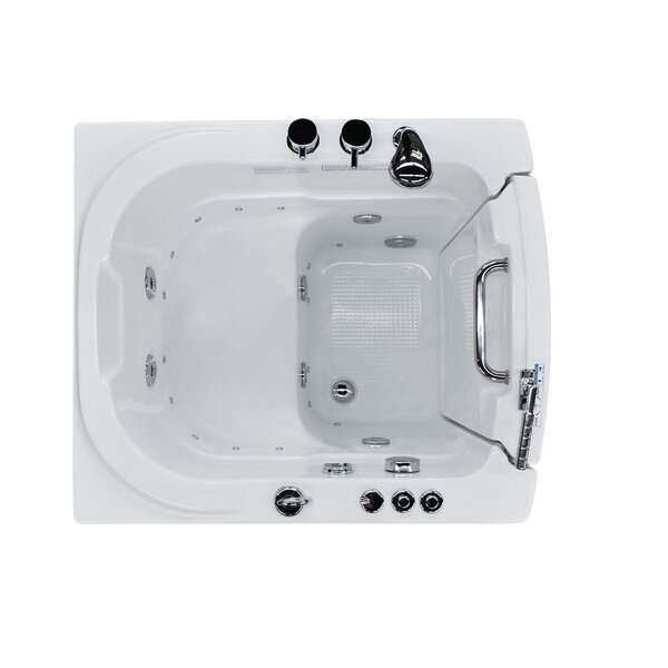 Durango 32 x 37.2 Whirlpool & Air Jetted Bathtub by Therapeutic Tubs