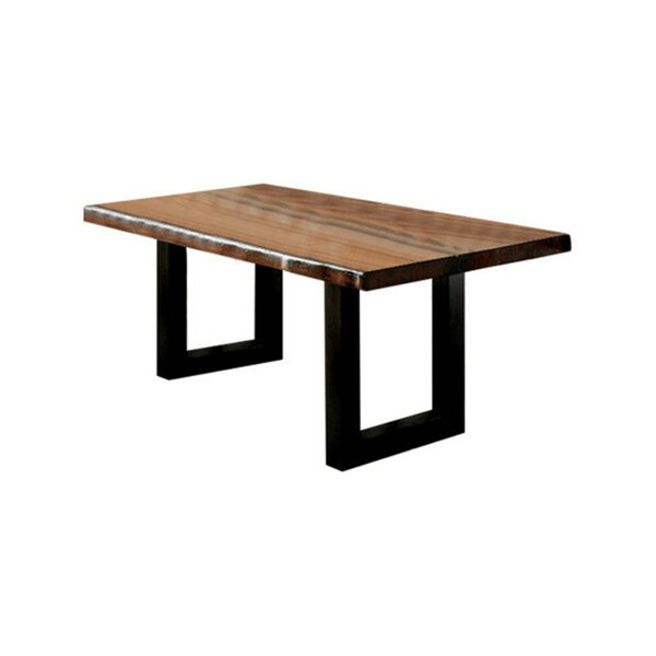 Whitford Solid Wood Dining Table by Loon Peak