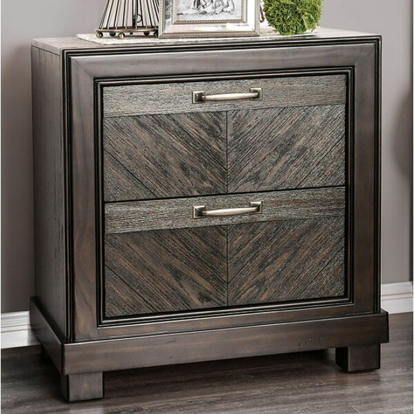 Theriot 2 Drawer Nightstand By Mercer41 Find