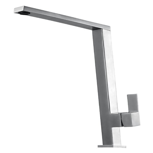 Square Modern Single Handle Kitchen Faucet by Alfi Brand