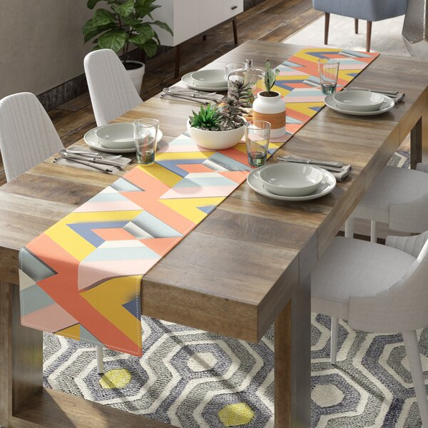 Akwaflorell So Cool Table Runner by East Urban Home