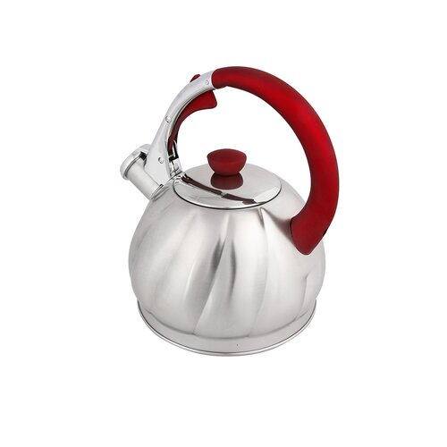 Mccourt 2L Stainless Steel Whistling Stovetop Kettle Symple Stuff