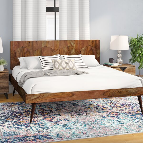 Alice Platfrom Bed by Modern Rustic Interiors