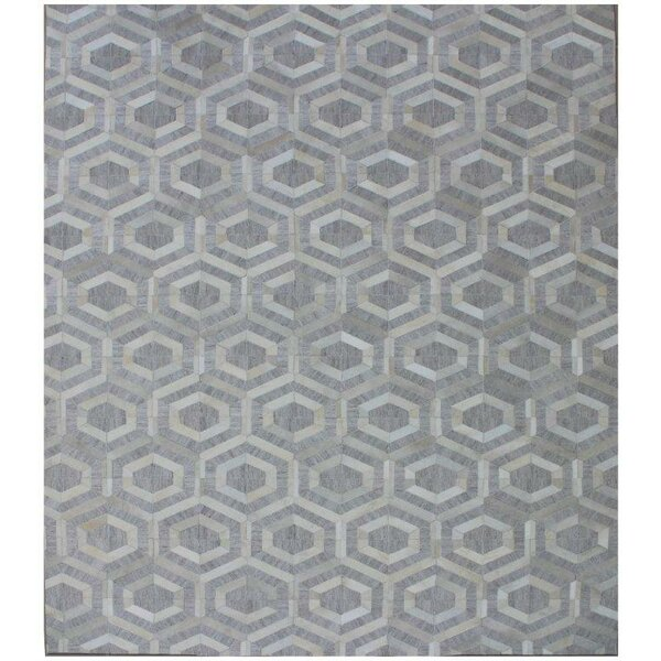 One-of-a-Kind Berlin Hand-Woven Ivory/Gray Area Rug by Exquisite Rugs