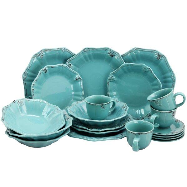 Suzan 16 Piece Dinnerware Set, Service for 4 by Greyleigh