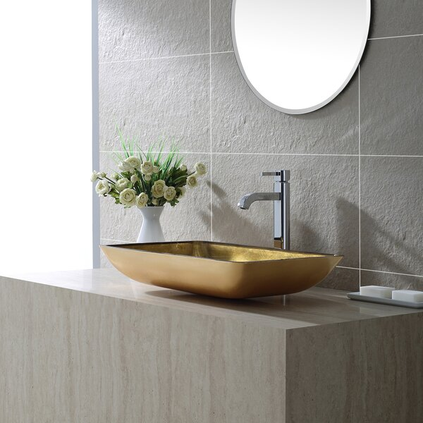 Ramus Single-Handle Vessel Sink Bathroom Faucet by Kraus