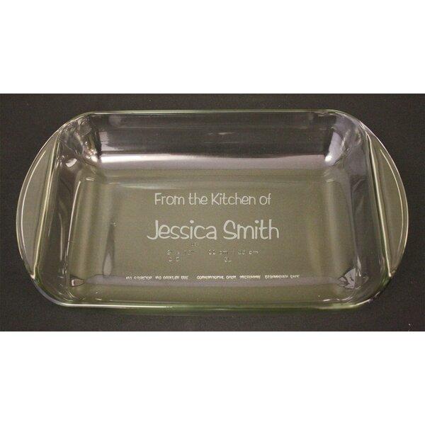 Personalized Rectangle Baking Dish by Signature Keepsakes