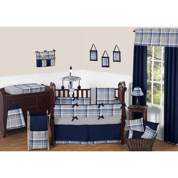 Plaid 9 Piece Crib Bedding Set by Sweet Jojo Designs