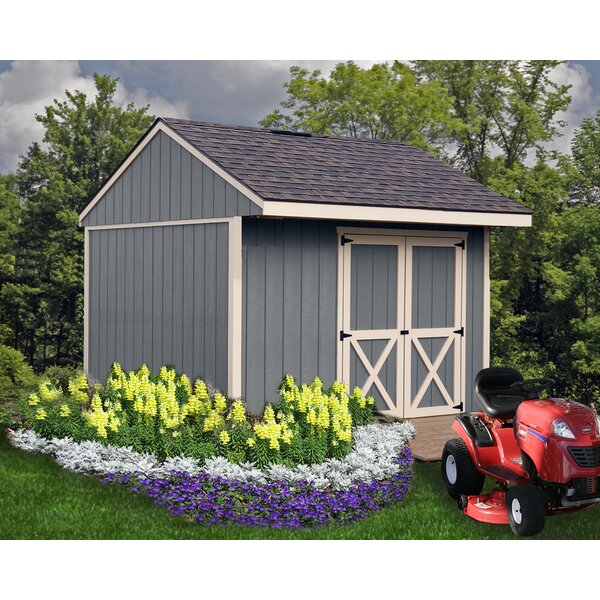 Northwood 10 ft. W x 10 ft. D Solid Wood Storage Shed by Best Barns