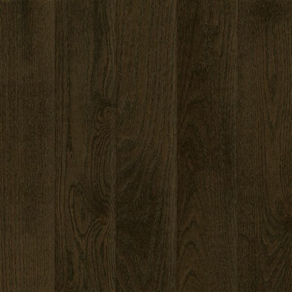 Prime Harvest 5 Solid Oak Hardwood Flooring in Low Glossy Blackened Brown by Armstrong Flooring