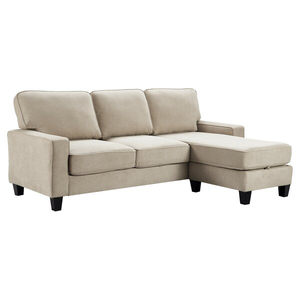 Palisades Reversible Sectional with Ottoman by Serta at Home